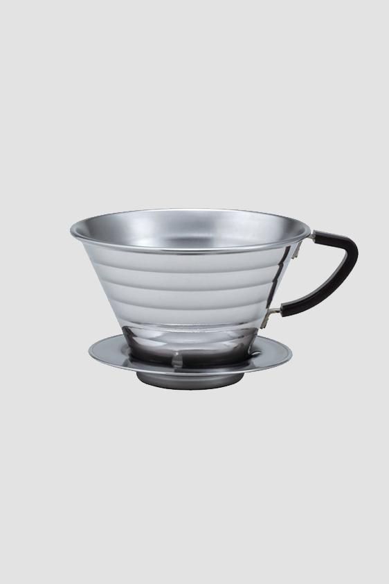 Kaffeefilter Edelstahl kalita wave kaffeefilter roasted